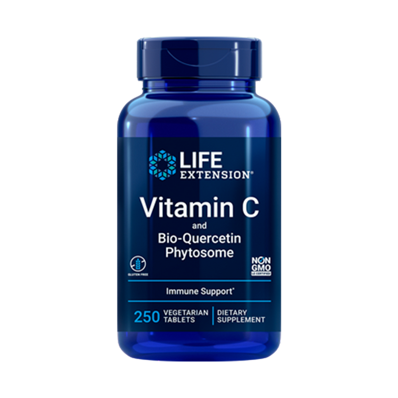Vitamin C  and Bio-quercetin 1000 mg 250 tabletas