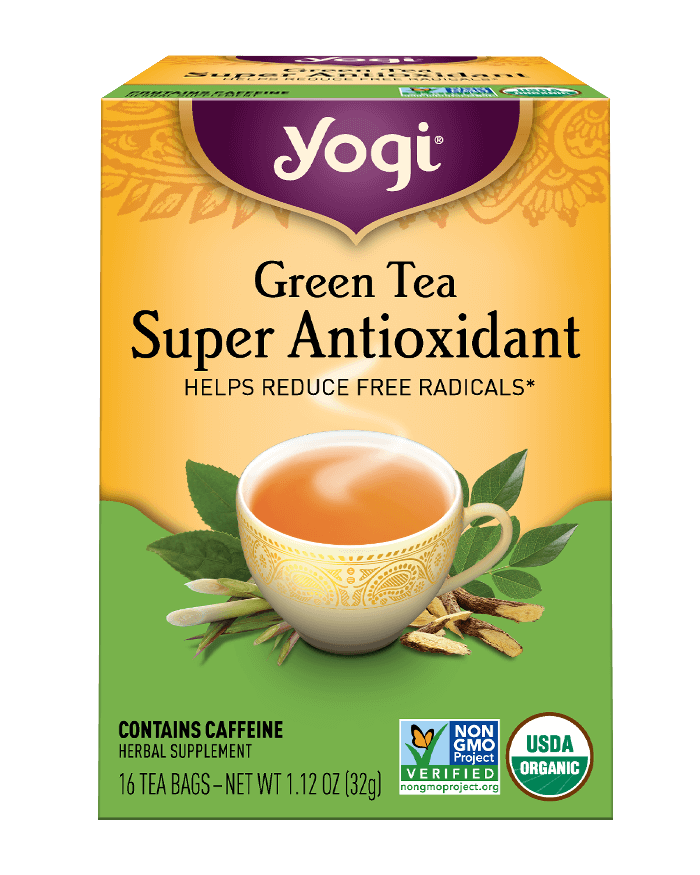 Green tea super antioxidant