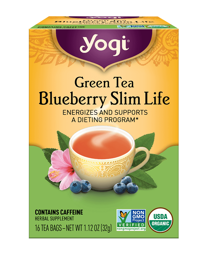Green Tea  Blueberry Slim Life