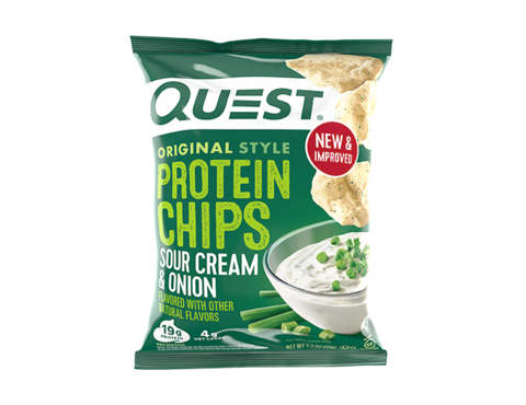 Quest protein chips sour cream & onion 32 G