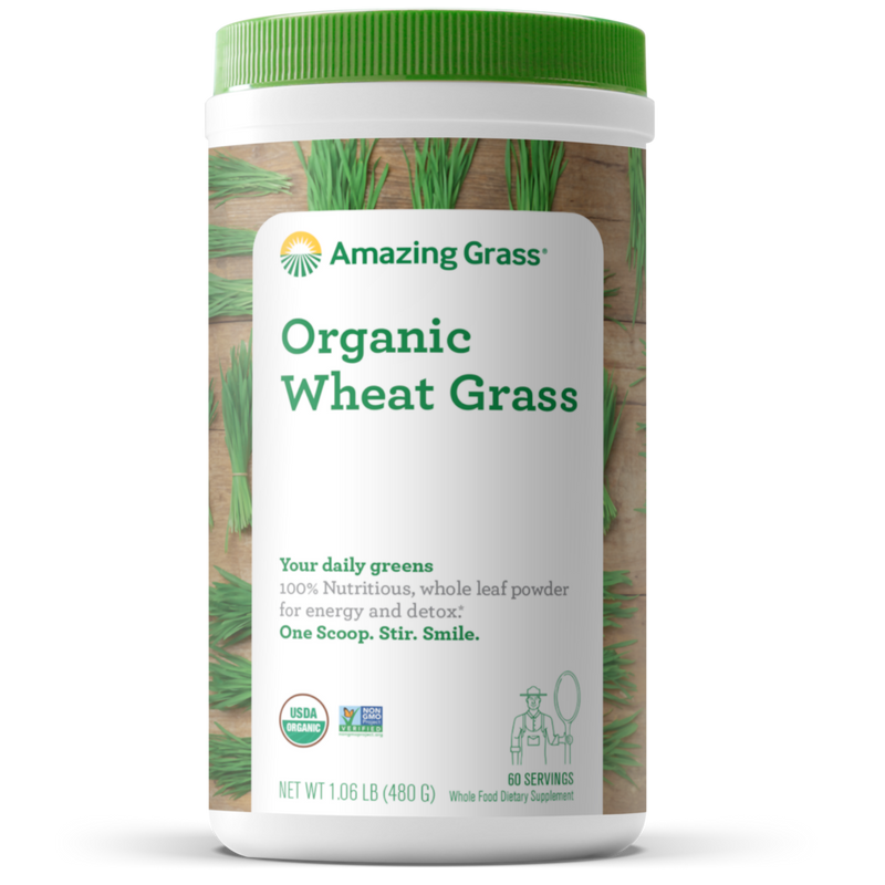 Organic Wheat Grass 480 Gr