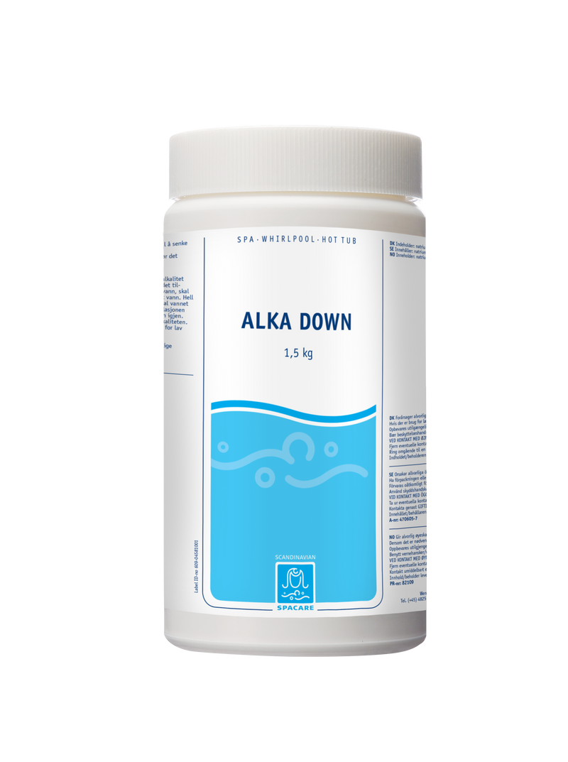 SpaCare Alka Down 1,5 kg