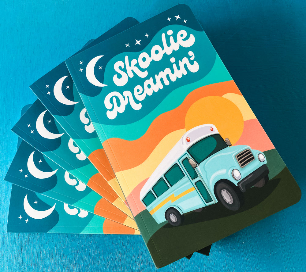 Skoolie Dreamin' Notebook