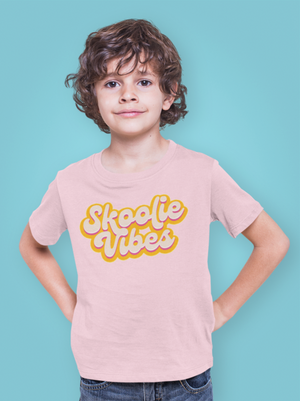 Load image into Gallery viewer, Skoolie Vibes Kids Tee