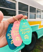 Keys to Our Dream Home Skoolie Keychain!