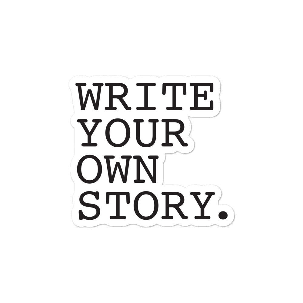 Write Your Own Story Sticker