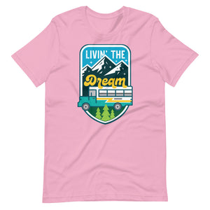 Load image into Gallery viewer, Livin' the Dream Skoolie Tee
