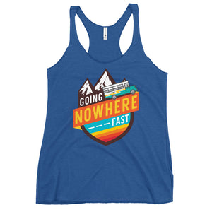 Going Nowhere Fast Racerback Tank