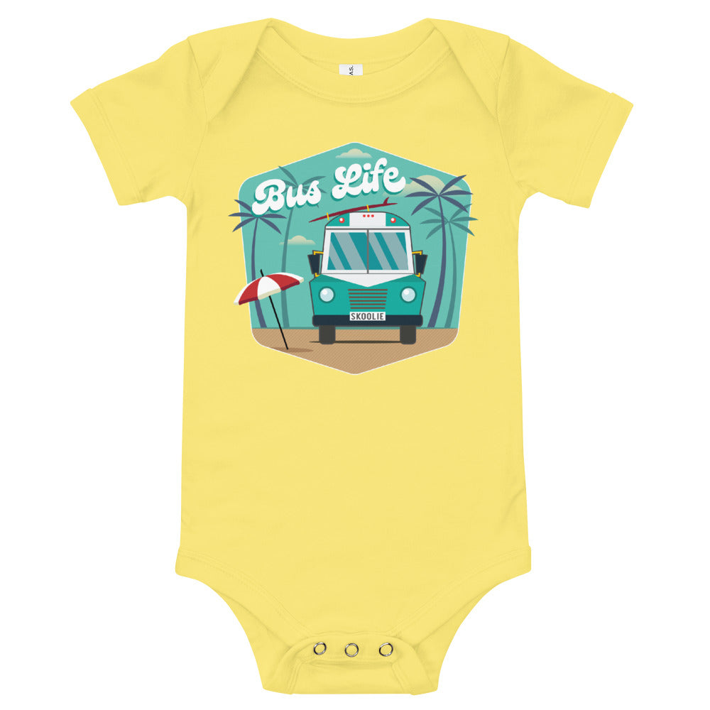 Bus Life at the Beach Onesie
