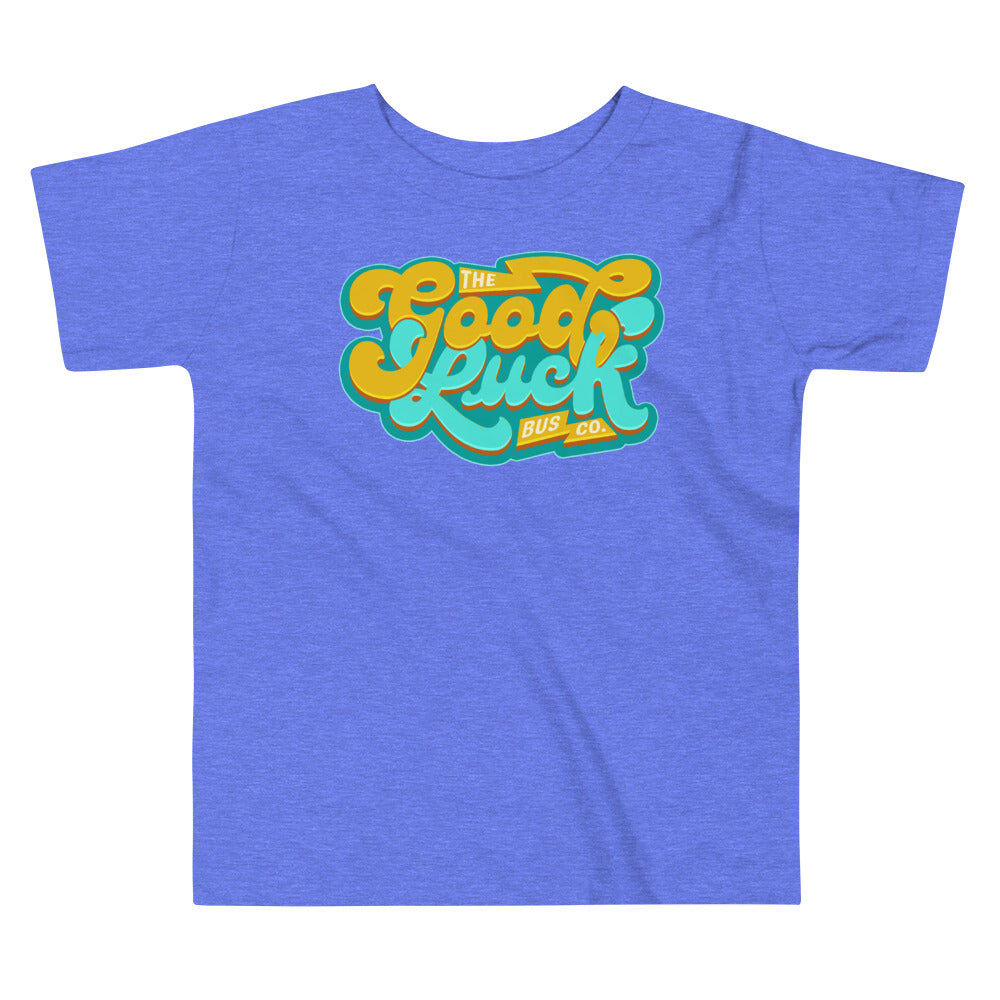 The Good Luck Bus Co. Retro Style Toddler Tee