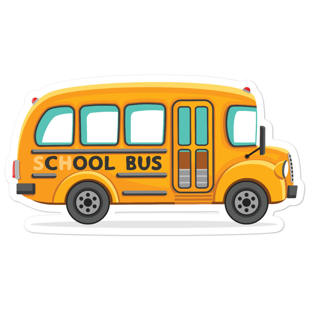 Cool Bus Skoolie Sticker