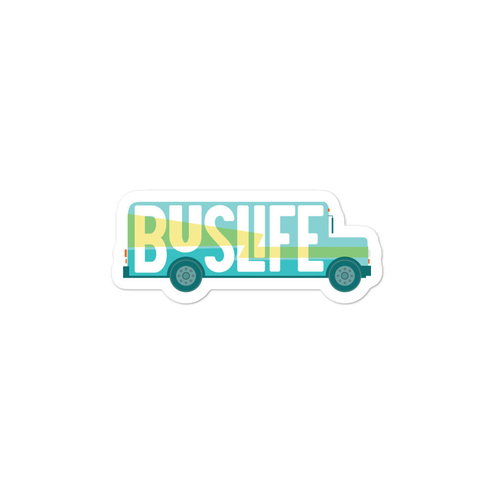 BUS LIFE Skoolie Sticker