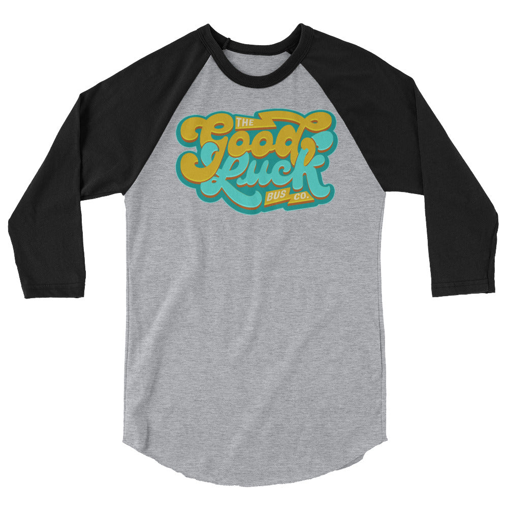 The Good Luck Bus Co. Retro Raglan Tee