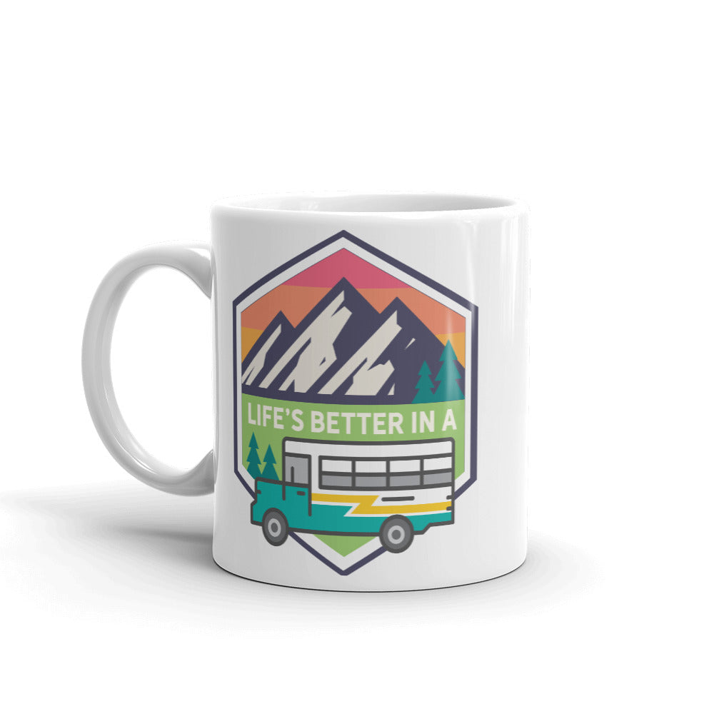 Life's Better in a Bus Mug