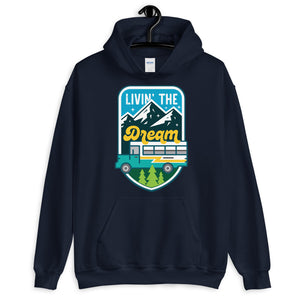 Load image into Gallery viewer, Livin' the Dream Unisex Hoodie