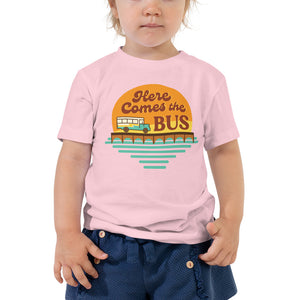Here Comes the Bus Toddler Tee