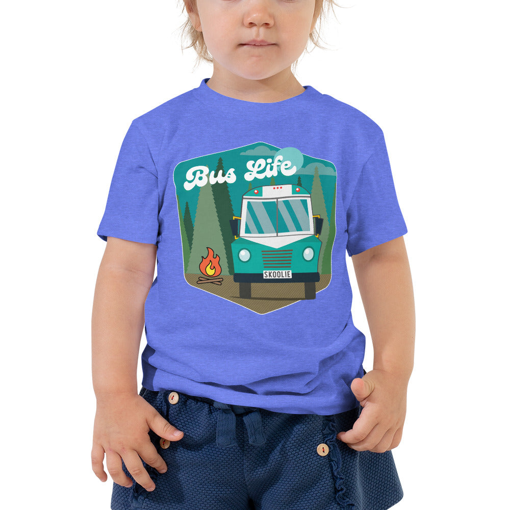 Bus Life in the Forest Toddler Tee