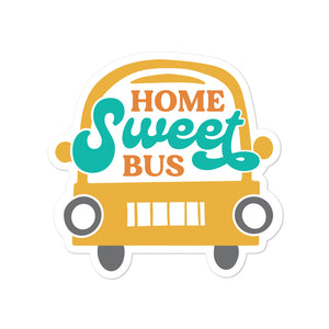 Load image into Gallery viewer, Home Sweet Bus Skoolie Sticker