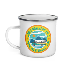 Everywhere Slow Skoolie Mug