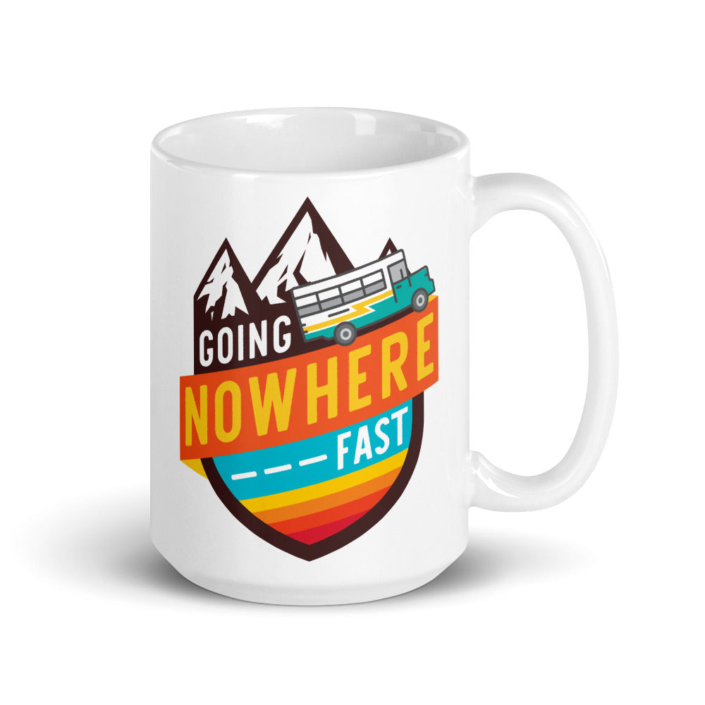 Load image into Gallery viewer, Going Nowhere Fast Mug