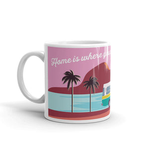 Home is where you park it // Coffee Mug
