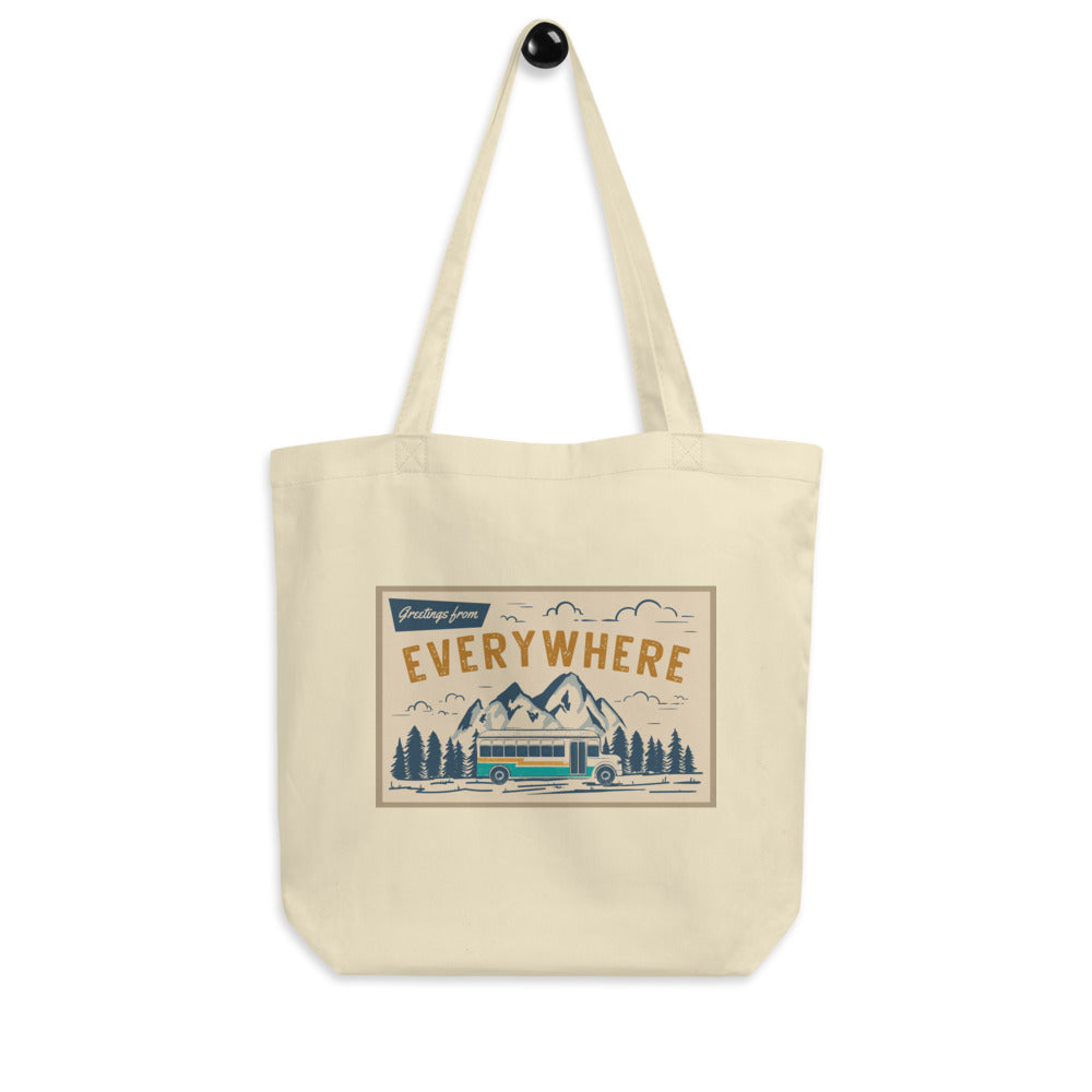 Greetings From Everywhere Eco Tote