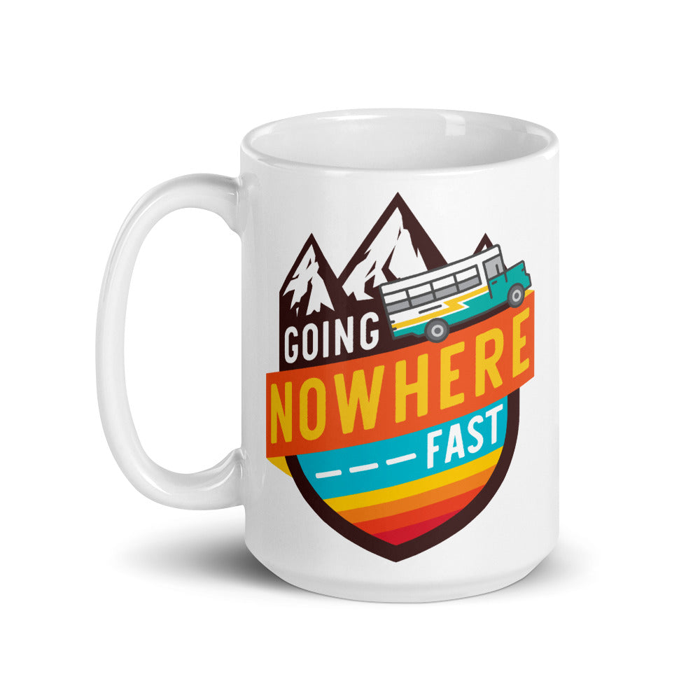 Going Nowhere Fast Mug