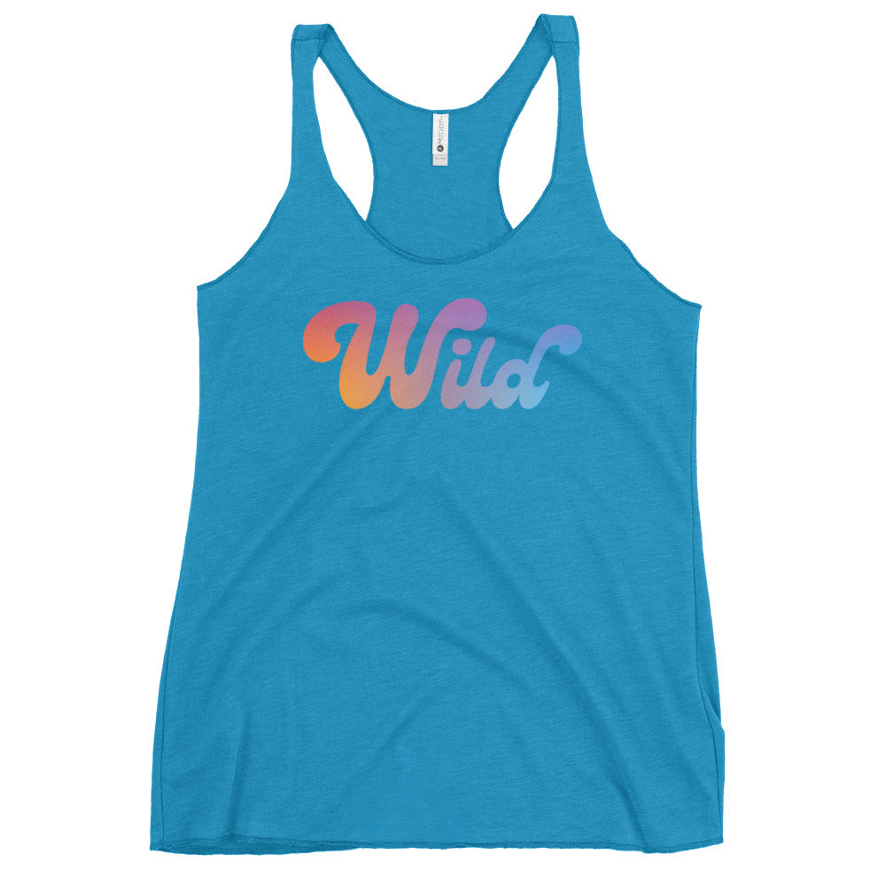 Load image into Gallery viewer, Wild // Racerback Tank