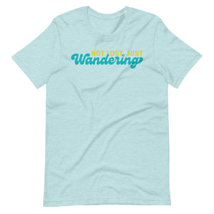 Not Lost Just Wandering Tee