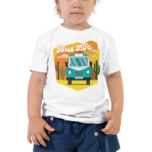 Load image into Gallery viewer, Bus Life in the Desert Toddler Tee