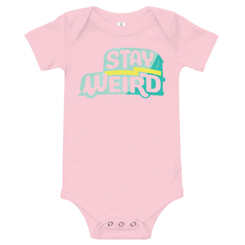 Stay Weird Onesie