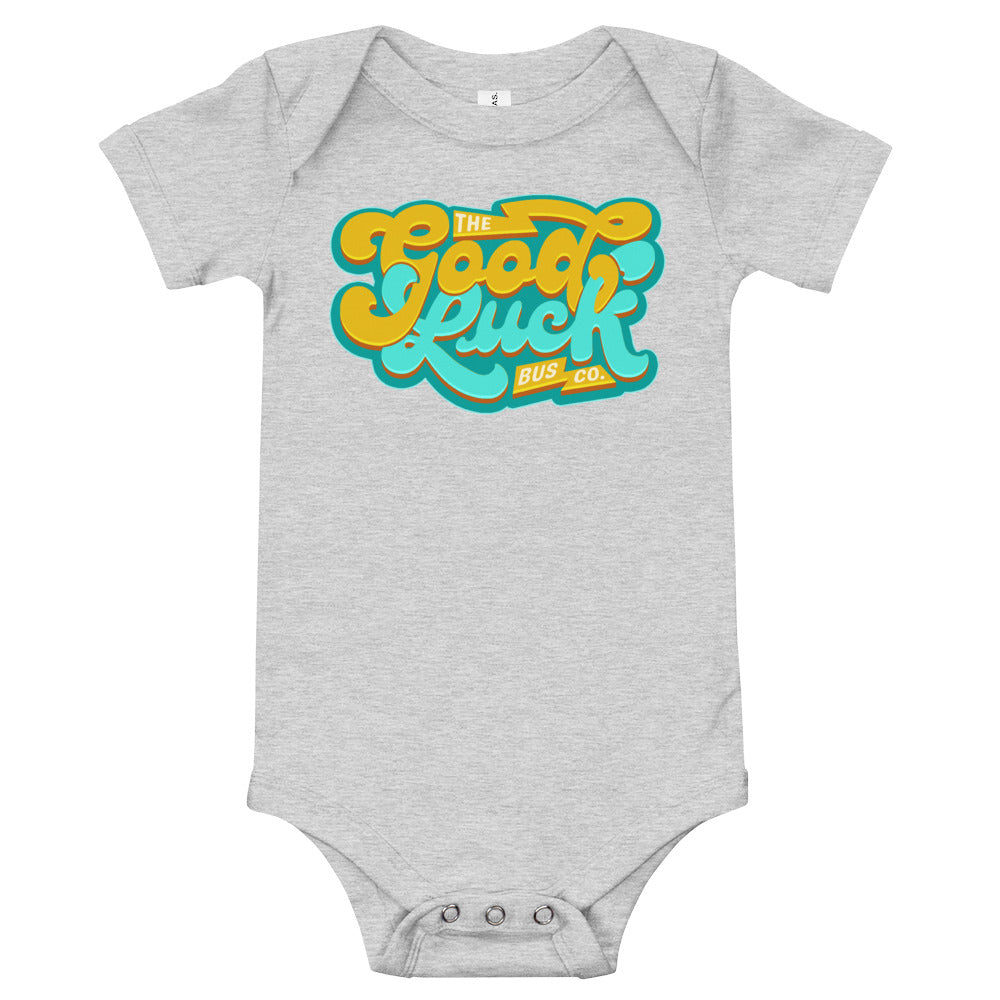 The Good Luck Bus Co. Retro Style Onesie