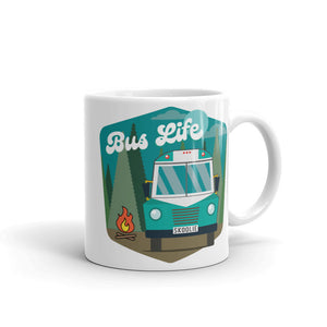 Bus Life in the Forest Mug