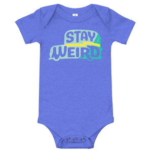 Load image into Gallery viewer, Stay Weird Onesie