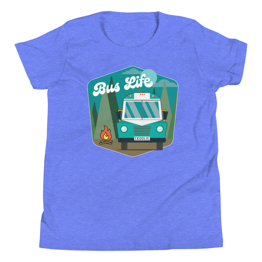 Bus Life in the Forest Kids Tee