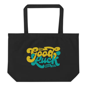 The Good Luck Bus Co. Large Organic Tote