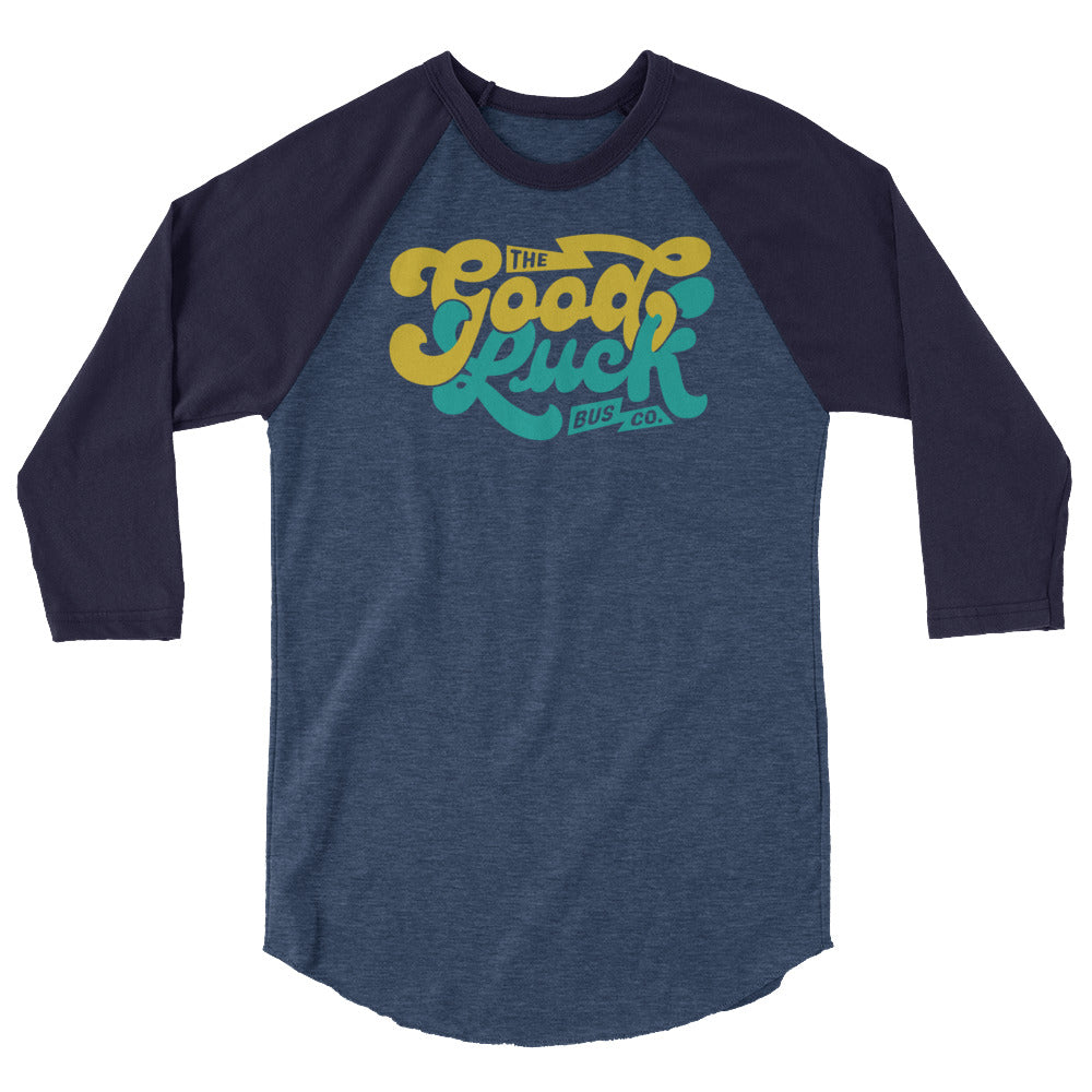 Load image into Gallery viewer, The Good Luck Bus Co. Raglan Tee