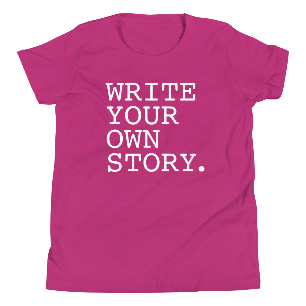 Write Your Own Story Kids Tee