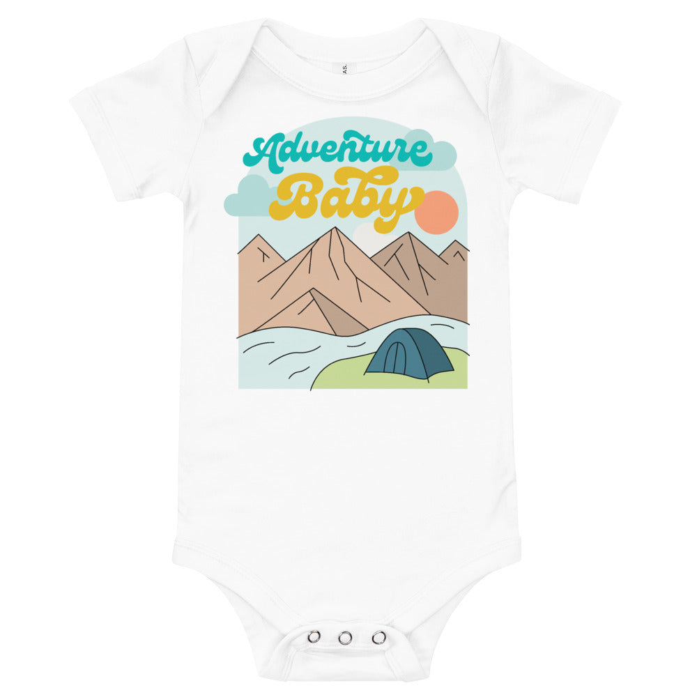 Load image into Gallery viewer, Adventure Baby Onesie!