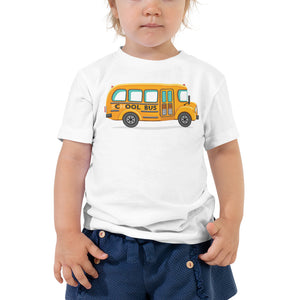 Load image into Gallery viewer, Cool Bus Toddler Tee