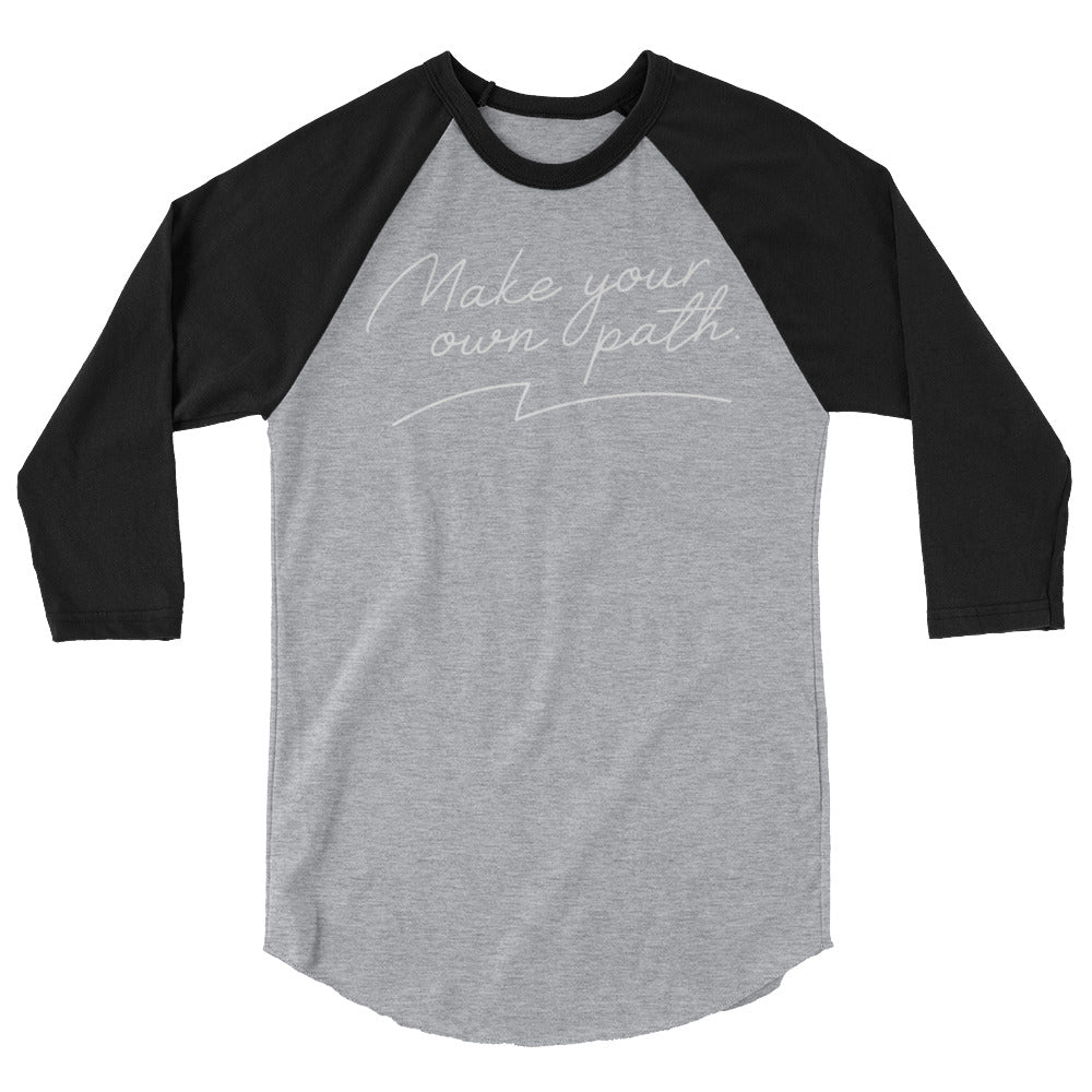 Load image into Gallery viewer, Make Your Own Path Raglan Tee
