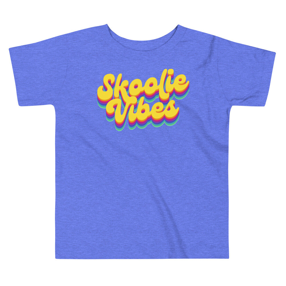 Load image into Gallery viewer, Skoolie Vibes Rainbow Toddler Tee