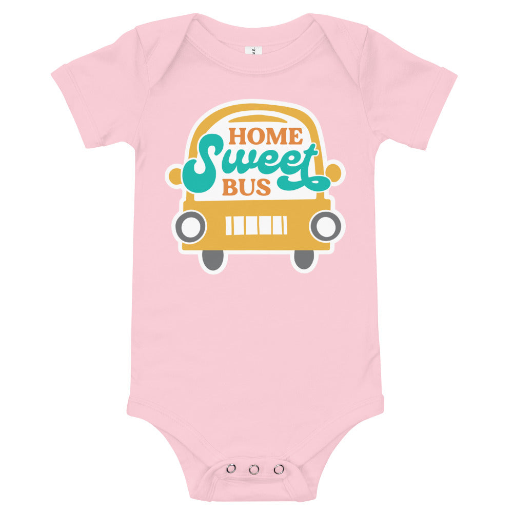 Home Sweet Bus Baby Onesie