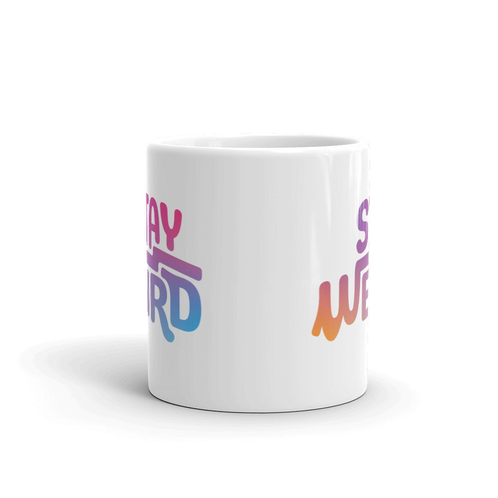 Load image into Gallery viewer, Stay Weird Mug