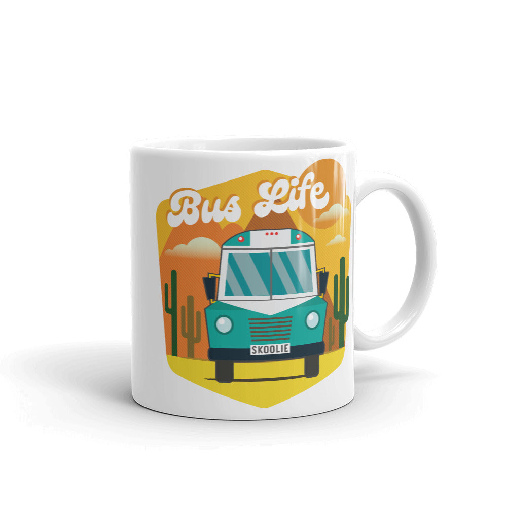 Bus Life in the Desert Mug