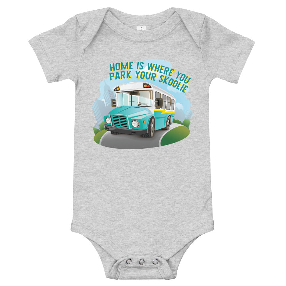 Home is Where You Park Your Skoolie Onesie