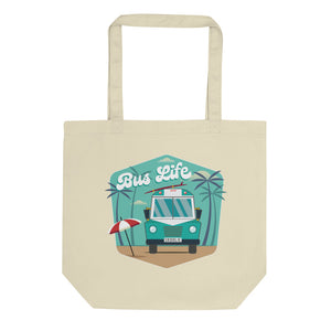 Bus Life at the Beach Eco Tote