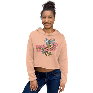Load image into Gallery viewer, Born to be Wild Crop Top Hoodie