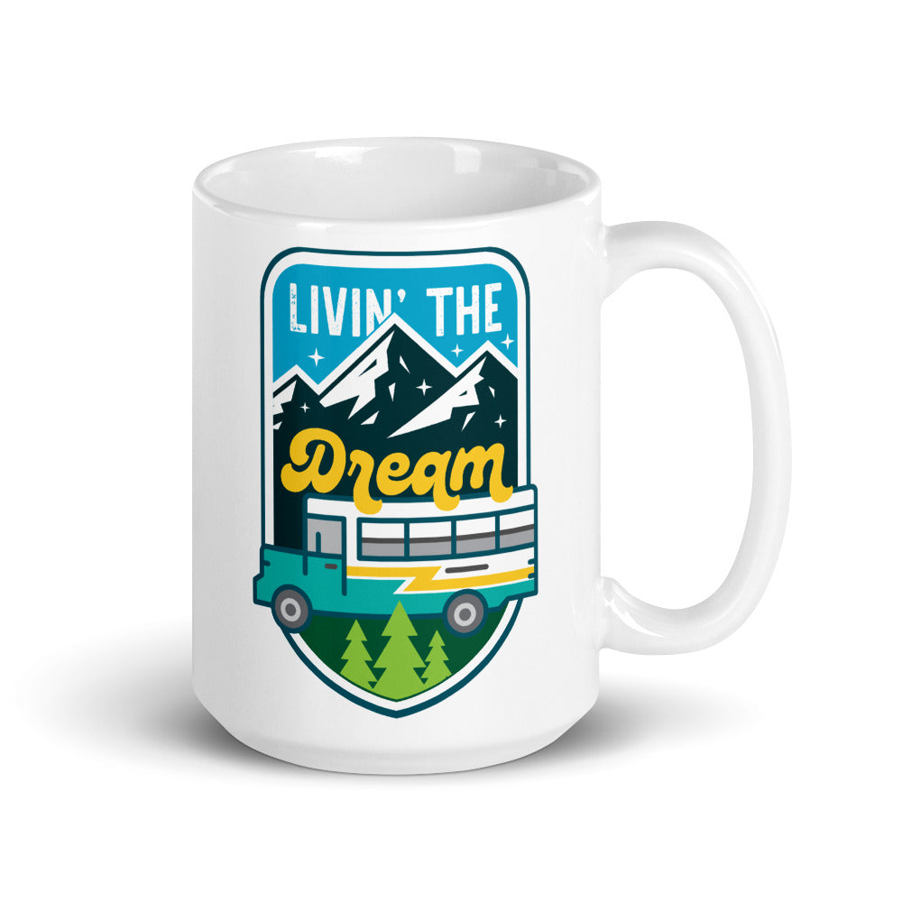 Livin' the Dream Skoolie Mug