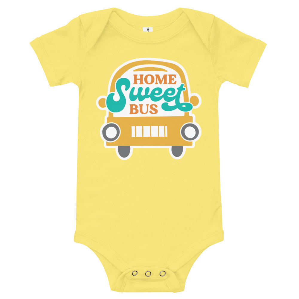 Load image into Gallery viewer, Home Sweet Bus Baby Onesie
